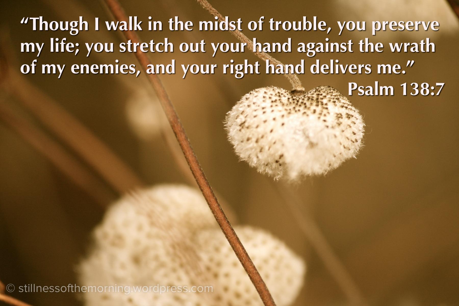 Psalm 138:7  